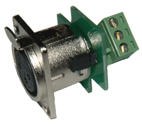 NC-3DF-C1 XLR Connector, plugable